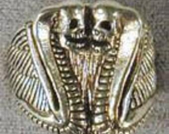 Double Headed Cobra Ring