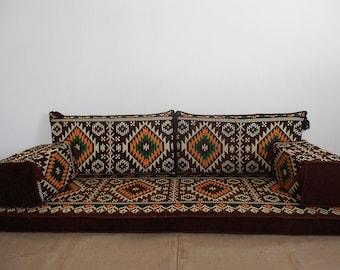 Arabic Style Majlis Floor Sofa Set,floor Couch,oriental Floor Seating,  Floor Seating