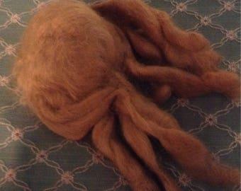 Vintage Honey Blonde Mohai Doll Wig