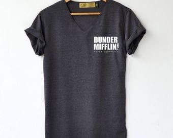 The office Shirt - Dunder Mifflin Paper Co. T-Shirt - Dwight Schrute T-Shirt High Quality Graphic T-Shirts Unisex