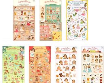 Paper Doll Mate Sticker Lot Diary Planner Scrapbook Calendar Book Cute Decor Point