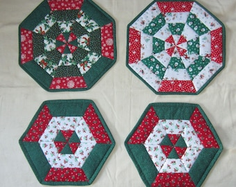 """Festive Christmas Table Centerpieces 14"""" and 11.75"""""""