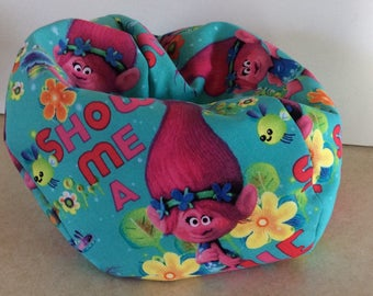 18 DollAmerican Doll Bean Bag ChairFurniture Trolls Fabric