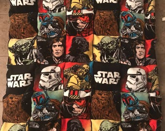 Star Wars Plush Weighted Blanket / Choose Your Weight