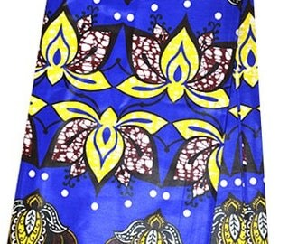 WHOLE6 YARDS African Fabrics Ankara Super Wax Print/For Dressmakings/ Kitenge /Pagnes/ Tissues Africain/ Chitenge