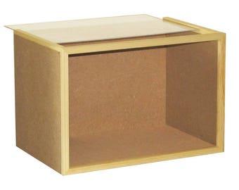 Room Box Kit, Display Box Kit, Diorama Kit, Miniature Display Box Kit