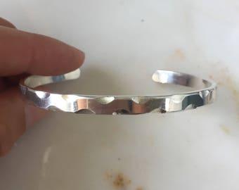 Sterling Silver Curve Cuff