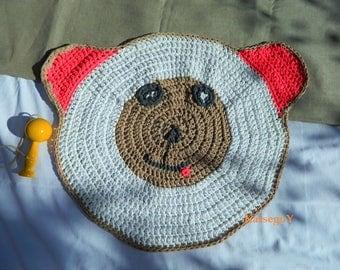 Rug bear crochet pattern