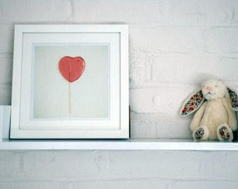 Framed lollipop print