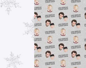 Home Alone | Christmas Gift Wrap Sheets | Wrapping Paper | A3 Sheets | Unofficial Wet Bandits, Kevin, Christmas Movie, Films