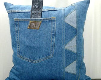 Denim Pillow16 x16 inches