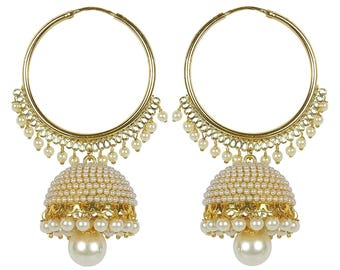 jhumka/jhumki/Indian earring/indian jewelry/ethnic jewelry/wedding jewelry/bollywood jewelry/earrings/jhumka earrings