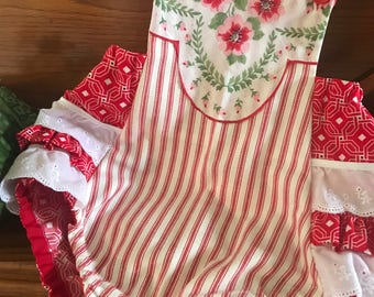 Red, White and So Very Cute Playsuit
