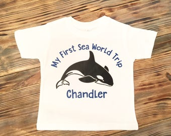 First Sea a World Visit Shirt