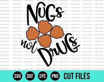 Funny SVG - SVG Files - Funny Kid SVG - Chicken Nugget Svg - Cut Files - Cricut Files - Silhouette Files - Vinyl Designs - Cutting Files