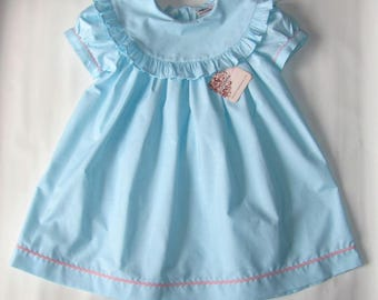 Easter Dress Baby Girl, Easter Dress, Girls Easter Dress, Monogram Dress, Easter Dress toddler, Personalized Dress, Girls Spring Dress