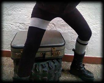 Long Leggings Black/Gray