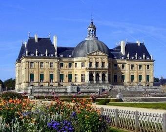 Placemat laminated Castle worth France-le - Vicomte