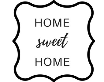 Home sweet Home instant download printable art