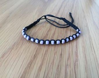 Bracelet, Beads Bracelets, Macrame, Macrame Cord, Macrame Jewelry, Adjustable, Cord Bracelet, Macrame Patterns