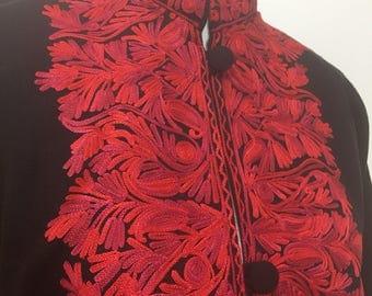 Woolen embroidered Jacket