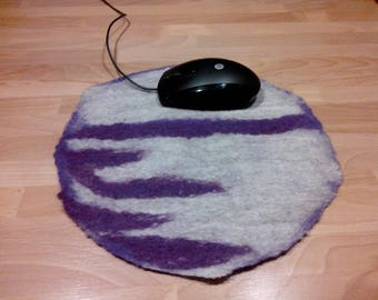 Merino Wool felted mouse pad