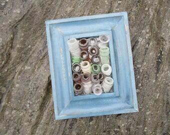 Sea Glass Bottle Art