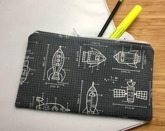 Zip Pouch - Pencil Bag