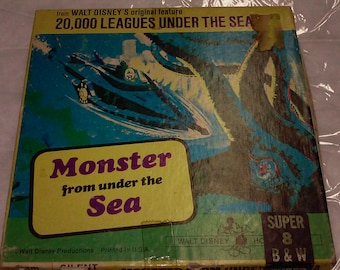 Monster from under the Sea Disney 8MM Film Reel