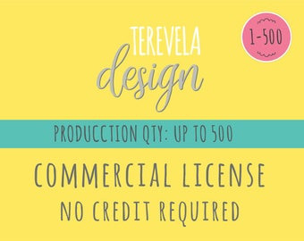 Commercial License  - Commercial Use License - No Credit Required
