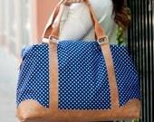 Canvas Weekender Bag -  Mom Weekender Bag - Personalized Birthday Gift - Woman Weekend Bag - Custom Luggage Set - Monogrammed Weekender
