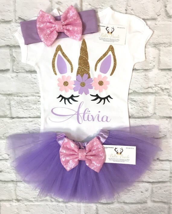 baby girl clothes unicorn shirts unicorn personalized