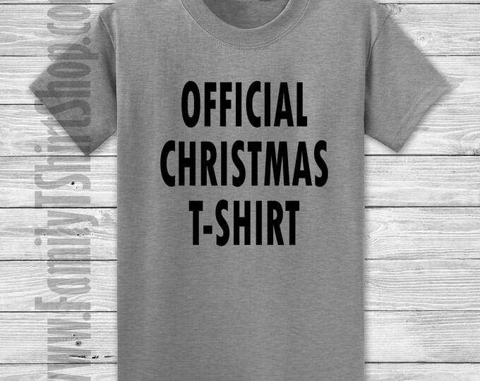 Official Christmas T-shirt T-shirt
