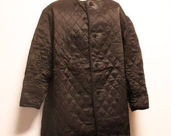70's Deadstock RARE Vintage Swiss army quilted liner puff jacket made in swiss