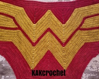 Wonder Woman Wrap//Red & Gold shawl//Girl power scarf//Malabrigo Rios Wonder Woman Shawl//Superhero Wrap//Cosplay//Fangirl Child -Adult size