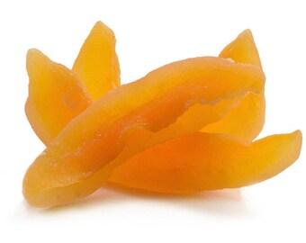 Dried Cantaloupe (Sweetened)