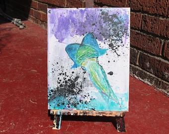 8X10 Canvas Acrylic Painting