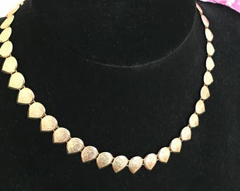 A 9ct Gold 1970s Necklace