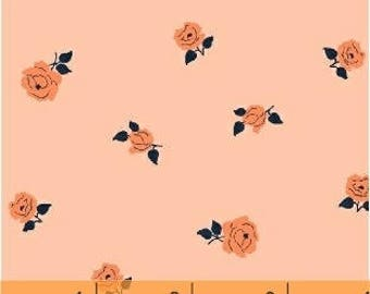 NEW!  Cotton Fabric by the Yard - Fat Quarter Bundle - Sweet Florals - Floral Fat Quarter Bundle - Quilting Fabric - Orange Floral Fabric