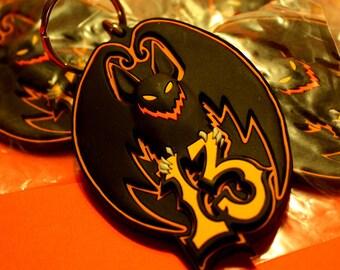 Bat 13 • PVC Keychain