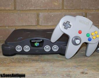 Vintage Nintendo 64 Console!