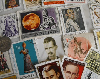 Hungarian Postage Stamps, Cancelled Hungary Stamp Collection