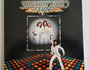 "1977 ""Saturday Night Fever"" Original Movie Soundtrack Double 2 vinyl LPs"