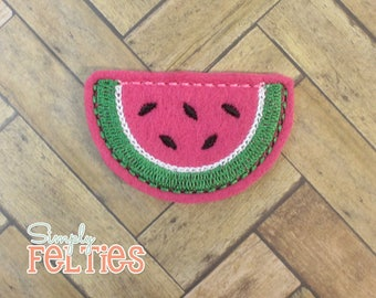 Watermelon Felties--Full Slice--Set of 4