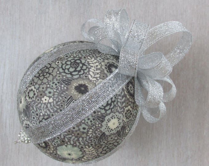 Liberty of London Luxury Reiko Fabric Christmas Tree Bauble