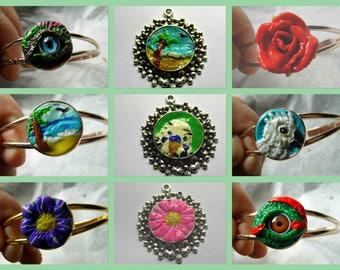 handmade sculpted bracelets