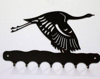 Hangs 26 cm pattern metal keys: crane