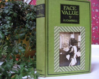 Book Photo Frame Vintage Reclaimed Hard Cover Book and Vintage Photo Desk Top Frame Re-Purposed Handmade