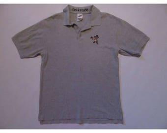 Taz Looney Tunes Polo Shirt sz M Medium