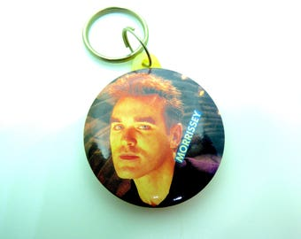 Vintage Late 80s or Early 90s Morrissey - The Smiths - Keychain